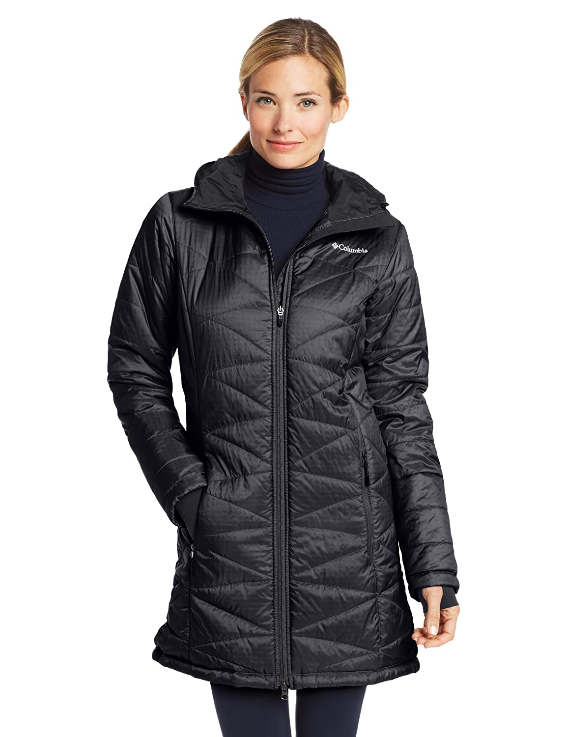 Amazon.com: Columbia Women's Mighty Lite Hooded Jacket: Sports ...