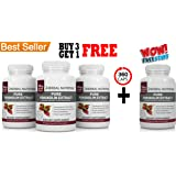 #1 Rated Pure Forskolin 250mg | 3 Bottles Plus 1 FREE | 360 Capsules 180 Day Supply| A 20% Extract Of Pure Coleus Forskohlii | Ideal Weight Loss & Athletes Formula | U.S. Mfd. | Free Shipping