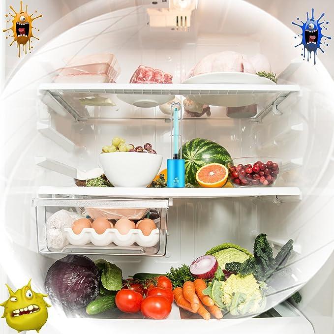 UVC LED Lámpara Esterilización Desinfección,Limpiador de Aire para Coche, Refrigerador, Zapatos,Cocina,Cuarto,Baño etc.: Amazon.es: Productos para mascotas
