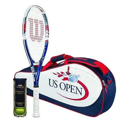 Wilson Sporting Goods US Open Raqueta de Tenis Bolsa ...