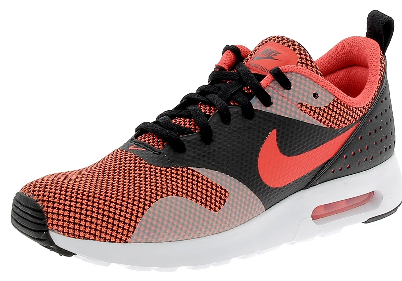 Nike AIR MAX TAVAS PRM Laufschuhe  43 EU|BLACK/BRIGHT CRIMSON-DARK GREY
