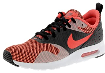 Nike AIR MAX TAVAS PRM Laufschuhe  42 EUBLACK/BRIGHT CRIMSON DARK GREY