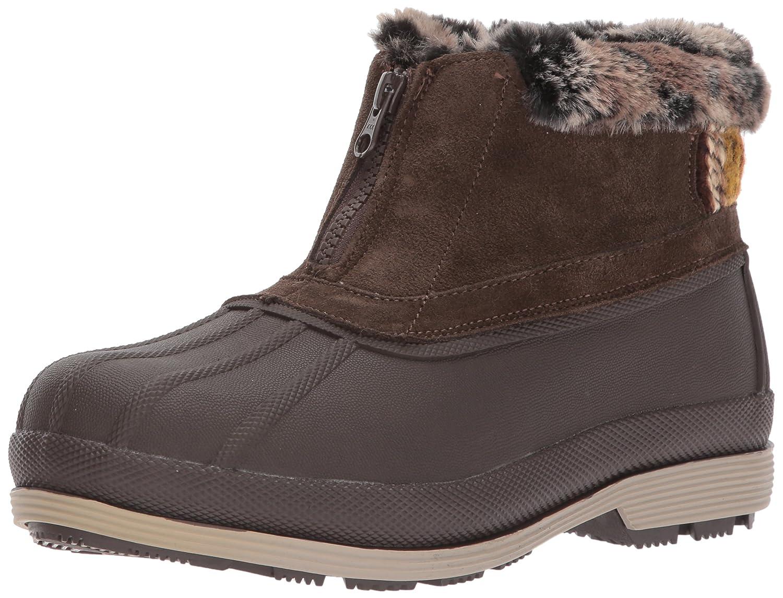 Propet Women's Lumi Ankle Zip Snow Boot B06XRQS3NL 8.5 W US|Sand