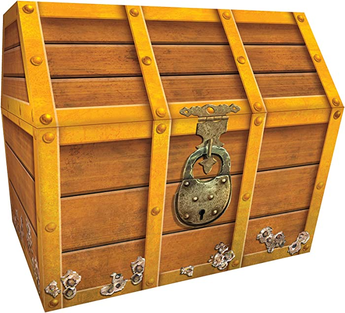 Teacher Created Resources TCR5048 Treasure Chest, 9-1/2 x 8 x 8-1/2 Inches