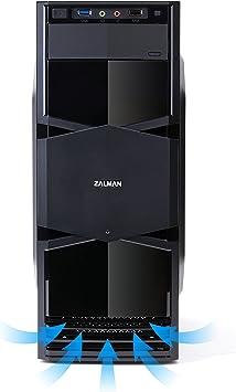 Zalman ZM-T3 Carcasa de Ordenador - Caja de Ordenador (Mini-Tower, PC, Micro-ATX, Mini-ITX, Fondo, 1x 92 mm, 80, 92 ...