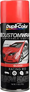 Dupli-Color ECWRC8430 Custom Wrap Gloss Racing Red