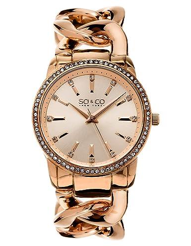 SO & CO New York SoHo Mujer - Reloj de pulsera