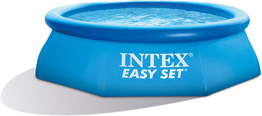 Amazon.com: Intex Easy Set de alberca Redonda de 2,4 m x 76 ...