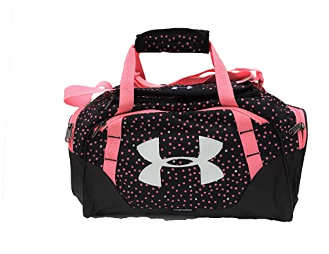 neon under armour duffle bag