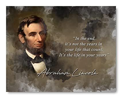 Amazoncom Ramini Brands Life In Your Years Abraham Lincoln