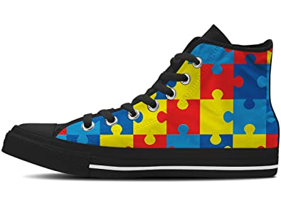 eabc161d4b66dc Gnarly Tees Women s Autism Awareness Shoes