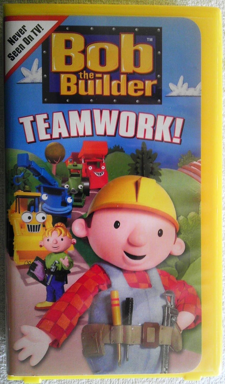 Bob the builder live online dvd rental - Amazon Com Bob The Builder Teamwork Vhs Rob Rackstraw Kate Harbour Neil Morrissey Lorelei King Alan Marriott Lachele Carl Emma Tate