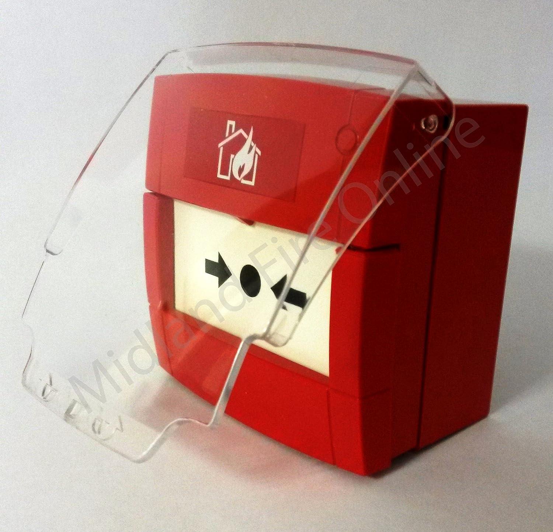 Protector de pulsador manual de alarma de KAC de Midland ...