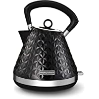 Morphy Richards Black Pyramid Kettle Vector 108131 Traditional Kettle 3000w Black Kettle