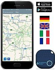musegear® localizzatore Chiavi Bluetooth -Volume 3 Volte più Potente -Colore Blu - Key Finder - Portafoglio Telefono