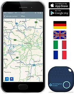 4er-Pack Schl/üsselfinder Wallet Finder Artikelfinder Anti-Verloren Pet Locator Geldb/örse Gep/äck Tracker Anti Lost Erinnerung f/ür Android /& IOS PexFix Bluetooth Mini Tracker Schl/üssel//Telefon