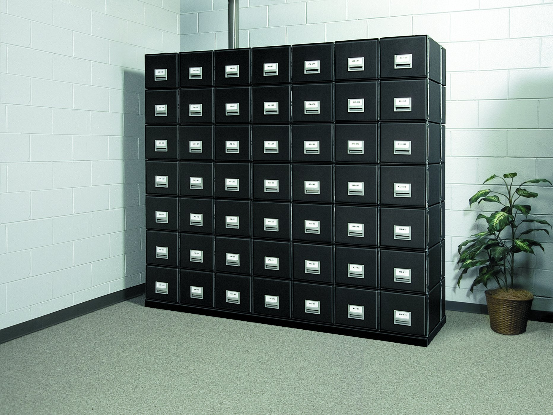 Bankers Box Metal Base for StaxonSteel Storage Drawers, Letter (12602)