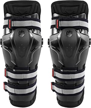 Scoyco Motorcycle PP Shell Knee Braces Shin Guards ATV Off Road Protective Gear