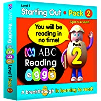 ABC Reading Eggs Level 1 Starting Out Book Pack 2 Ages 4-6