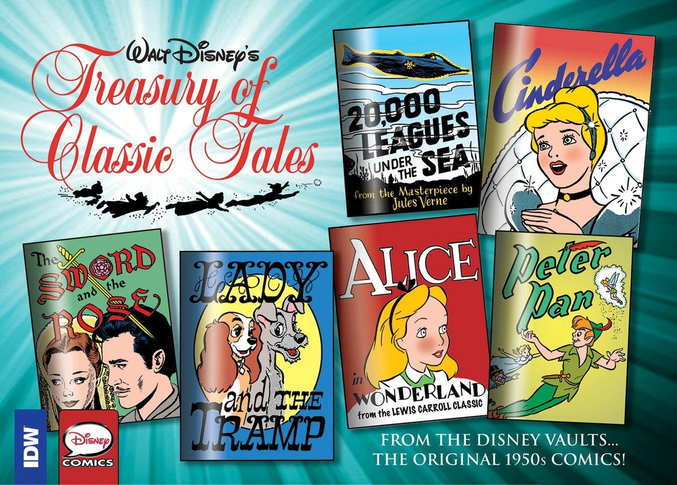 Walt Disney's Treasury of Classic Tales Volume 1
