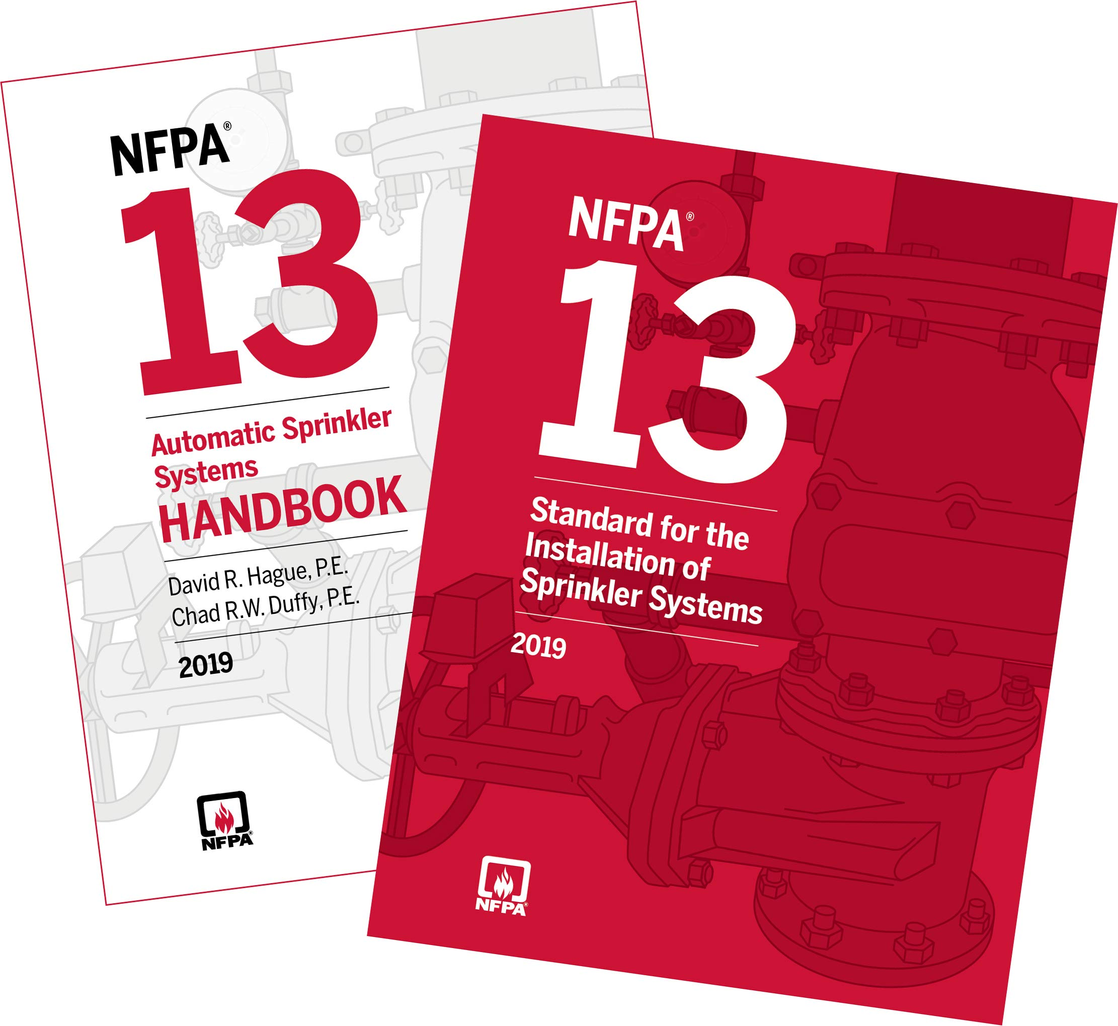 NFPA 13, Installation of Sprinkler Systems and Handbook Set
