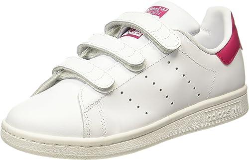 adidas Stan Smith CF, Baskets Mixte Enfant, Blanc (Footwear