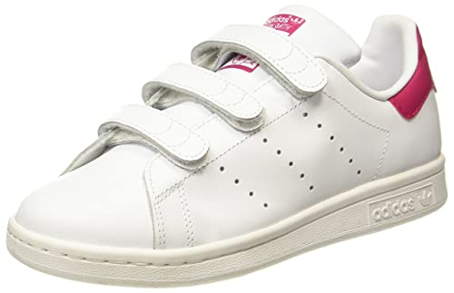03009b0fb724 adidas Unisex Kids  Stan Smith Cf J Trainers  Amazon.co.uk  Shoes   Bags