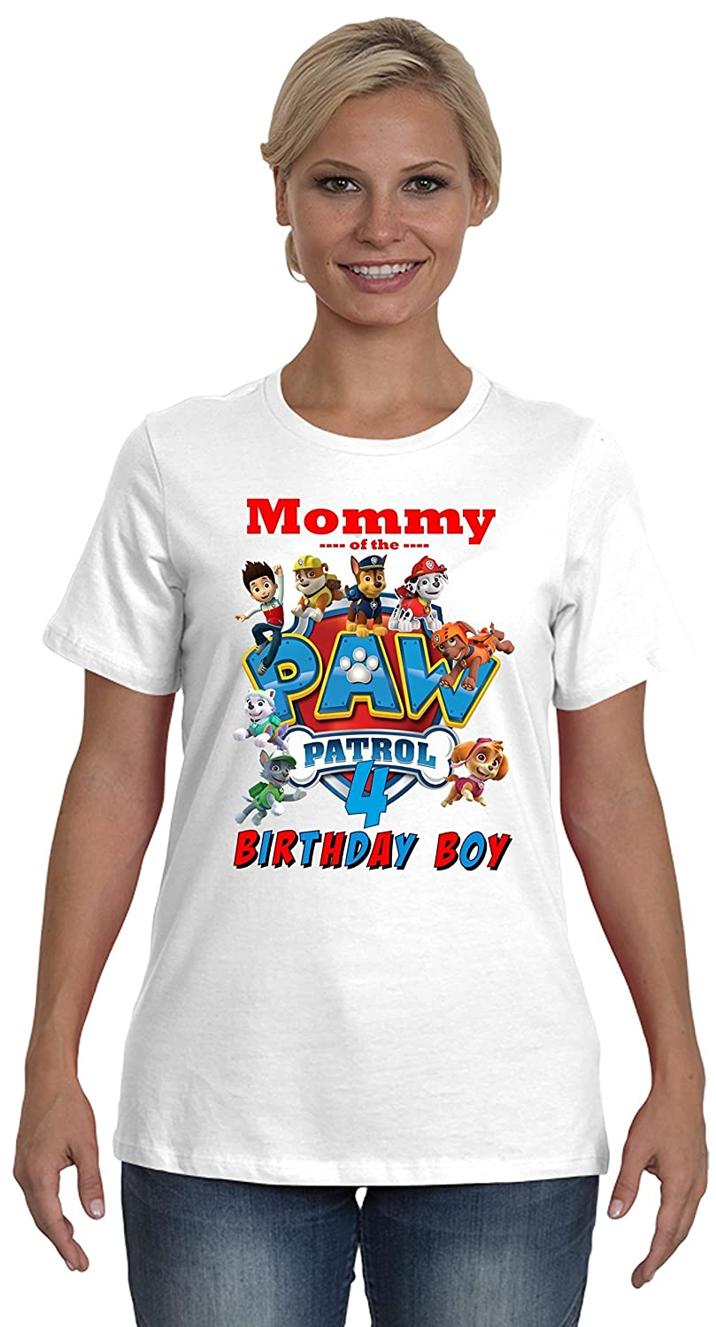 Paw Patrol Birthday Shirt FAMILY Boy Party Favor Add ANY Name And Age VISIT OUR SHOP Xmas