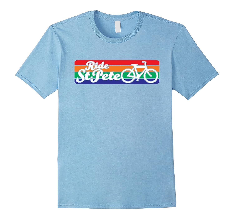 Cycling shirt White - Ride St Petersburg Florida 727-PL