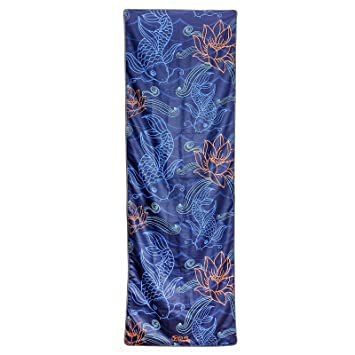 Fit Fit Hooray toalla de Yoga - Antideslizante, Ultra absorbente, Super rápido secado. Ideal para Bikram, Hot Yoga y fitness, Japanese Pond: Amazon.es: ...