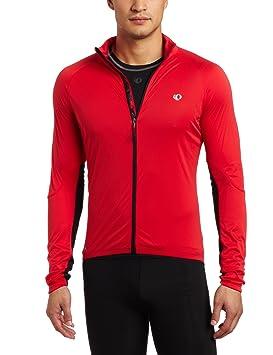 PEARL IZUMI P.r.o. Aero - Chaqueta de ciclismo para hombre, color rojo/negro, talla L: Amazon.es: Deportes y aire libre