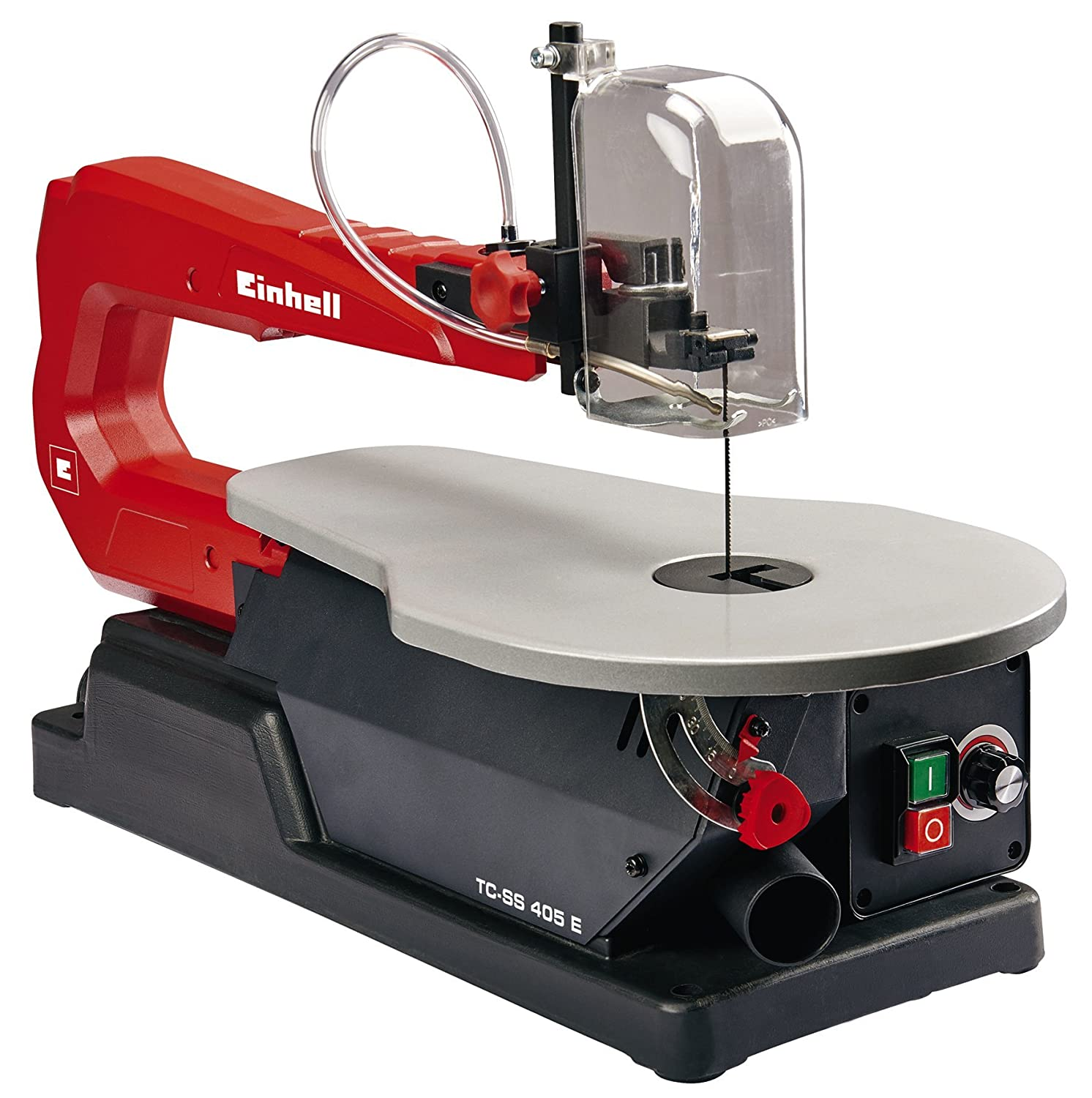 scroll saw labeled. einhell tc-ss 405 e 120 w scroll saw - red labeled