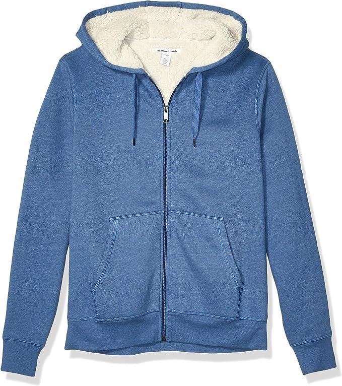light blue zipper hoodie