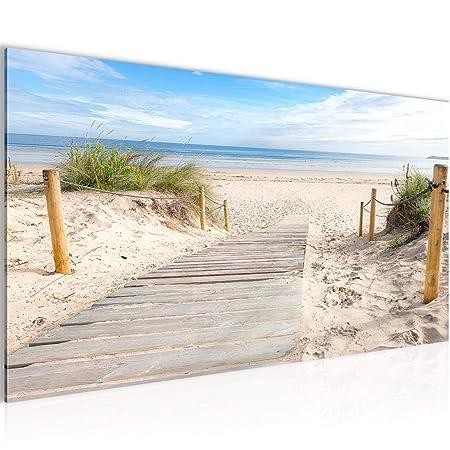 Bilder Strand Meer Wandbild Vlies Leinwand Bild Xxl Format