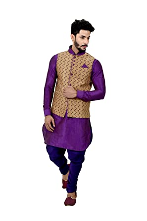 Purple Sherwani