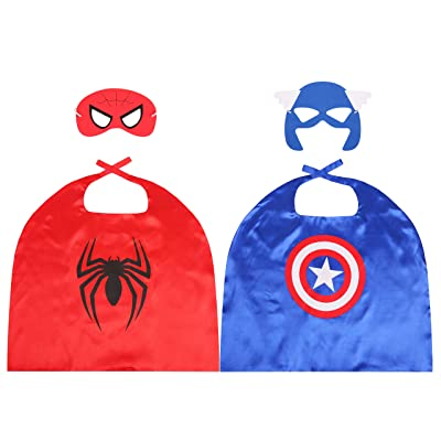 Ideed Kids Capes for Superhero Costumes for Boys 2T-8: Clothing