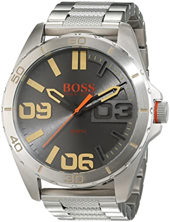 2e723491ddd Hugo Boss Orange - Reloj de pulsera analógico para hombre con correa de  acero inoxidable - 1513317  Hugo Boss Orange  Amazon.es  Relojes