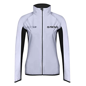 Proviz Women s Reflect 360 Running Jacket-Silver Black 01235d226