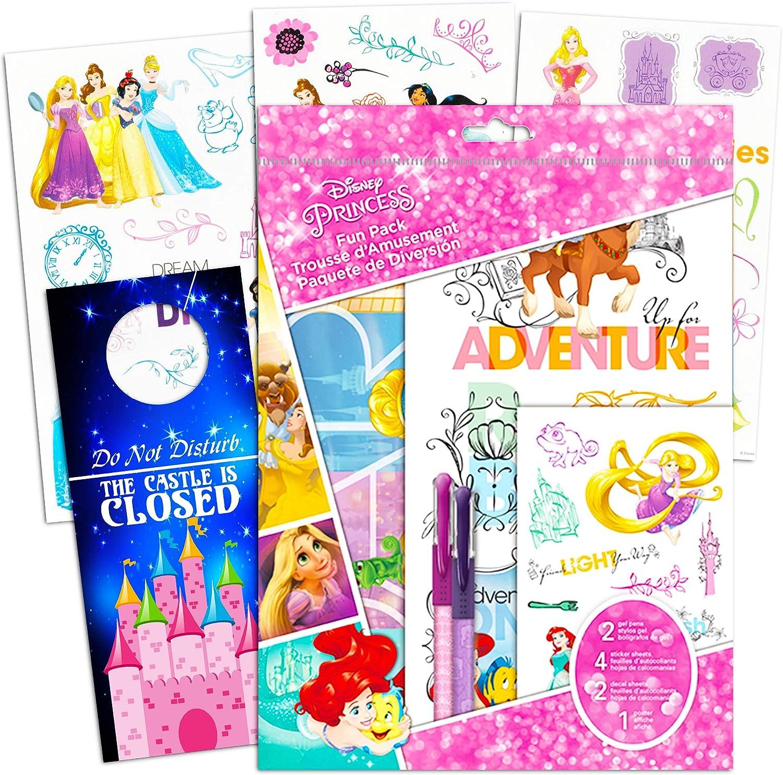 Desconocido Disney Princess Party Favors for Kids – El Paquete Incluye Pegatinas de Princesa de Disney, Pegatinas, Carteles, bolígrafos y más (Disney Princess Party Supplies para niñas niños): Amazon.es: Juguetes y juegos