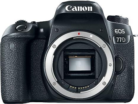 Canon EOS 77D - Cámara digital: Amazon.es: Electrónica