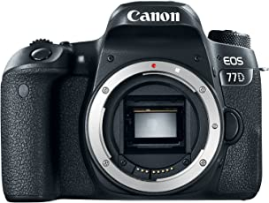 Canon EOS 77D Body, Cuerpo, Negro
