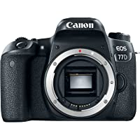 Canon EOS 77D , 24.2 MP Body Only DSLR Camera, Black