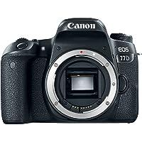 Canon 1892C001 EOS 77D , 24.2 MP Body Only DSLR Camera, Black