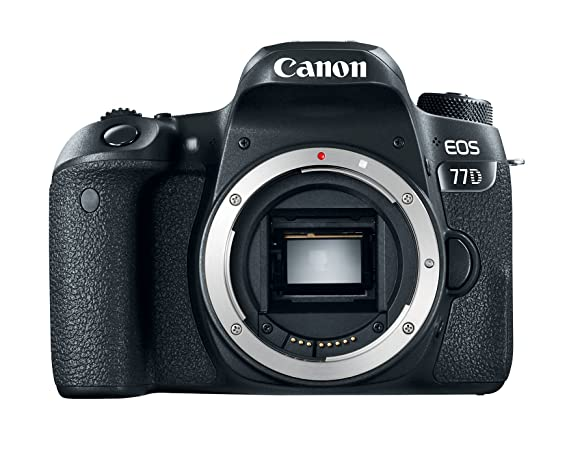 Canon EOS 77D 24.2MP Digital SLR Camera Body Digital SLR Cameras