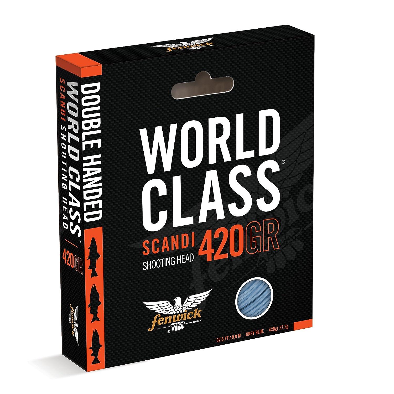 Fenwick wcflss510世界クラスScandiaシューティングヘッド、グレーブルー、34 – 1 /2 '/510 Grains