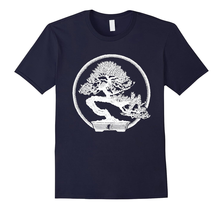 Bonsai Tree T-Shirt Japan Penjing Kanji Hanja Graphic Tee-Vaci