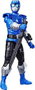 "Power Rangers Beast Morphers 12"" Beast-X Blue Ranger Action Figure Toy Inspired by The TV Show"