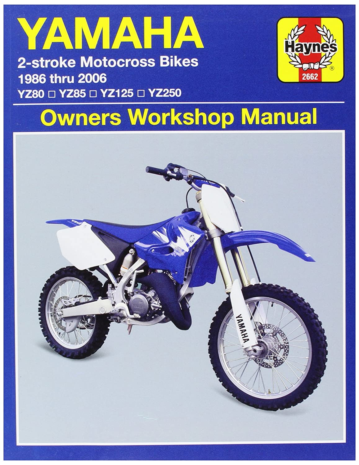 Amazon.com: Haynes Manuals 2662 MANUAL YAM YZ 2/STR 86-06: Sports & Outdoors