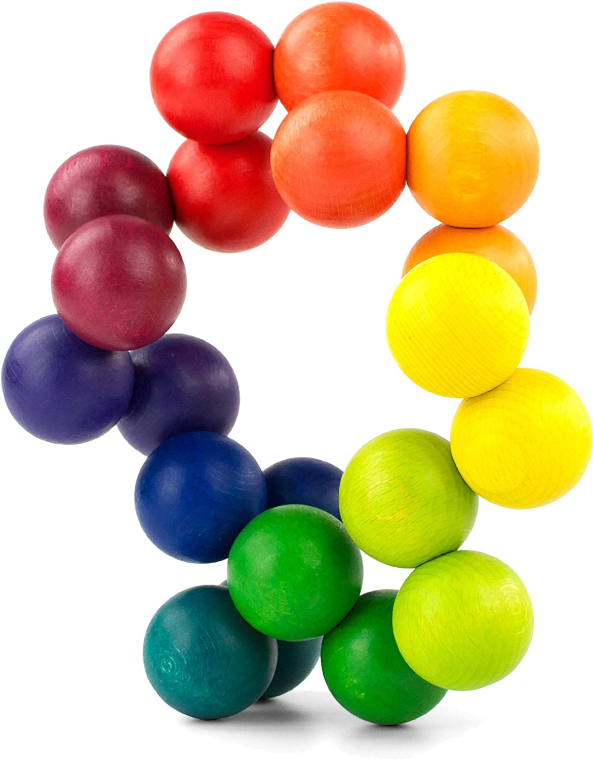 PLAYABLE ART Ball, Rainbow 20