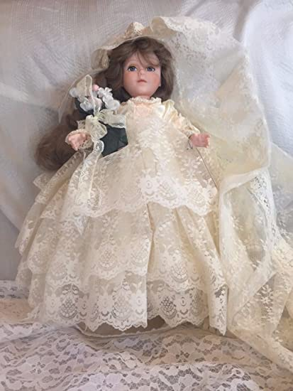 Robin Woods Jane Eyre novia vestido de novia de encaje en vinilo muñeca coleccionable – 14